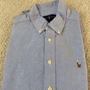 Boys- Polo by Ralph Lauren- shirt- EUC- size 10/12